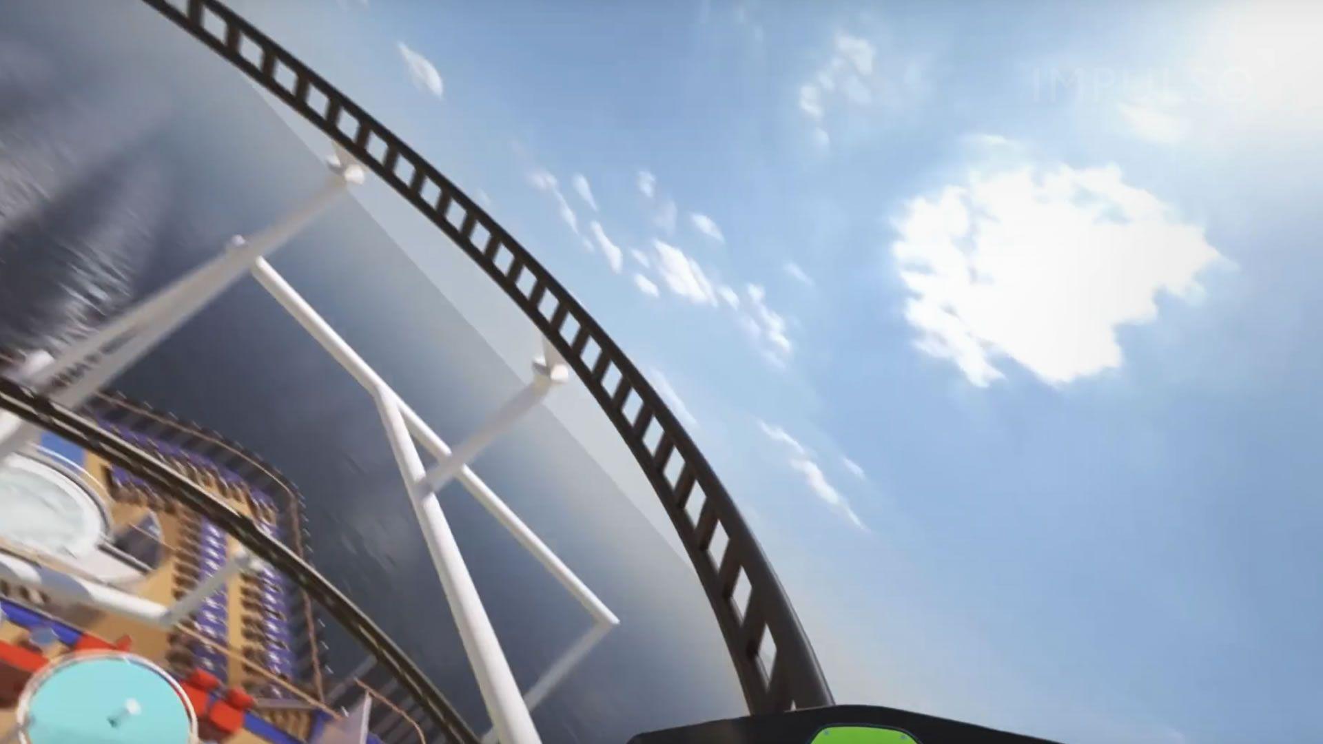 Así será la primera montaña rusa en un crucero: video