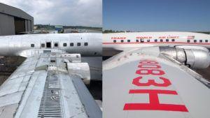 Un viejo avión restaurado se convertirá en un original bar en el aeropuerto JFK