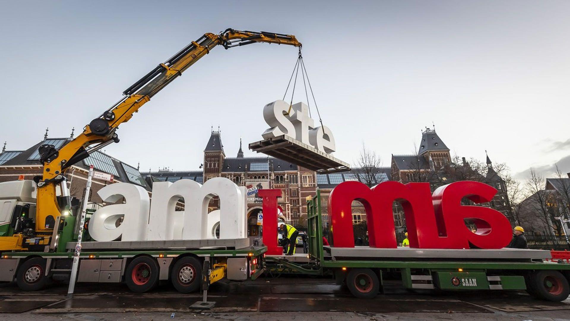 Ya no podremos tomarnos la foto más tradicional de Ámsterdam