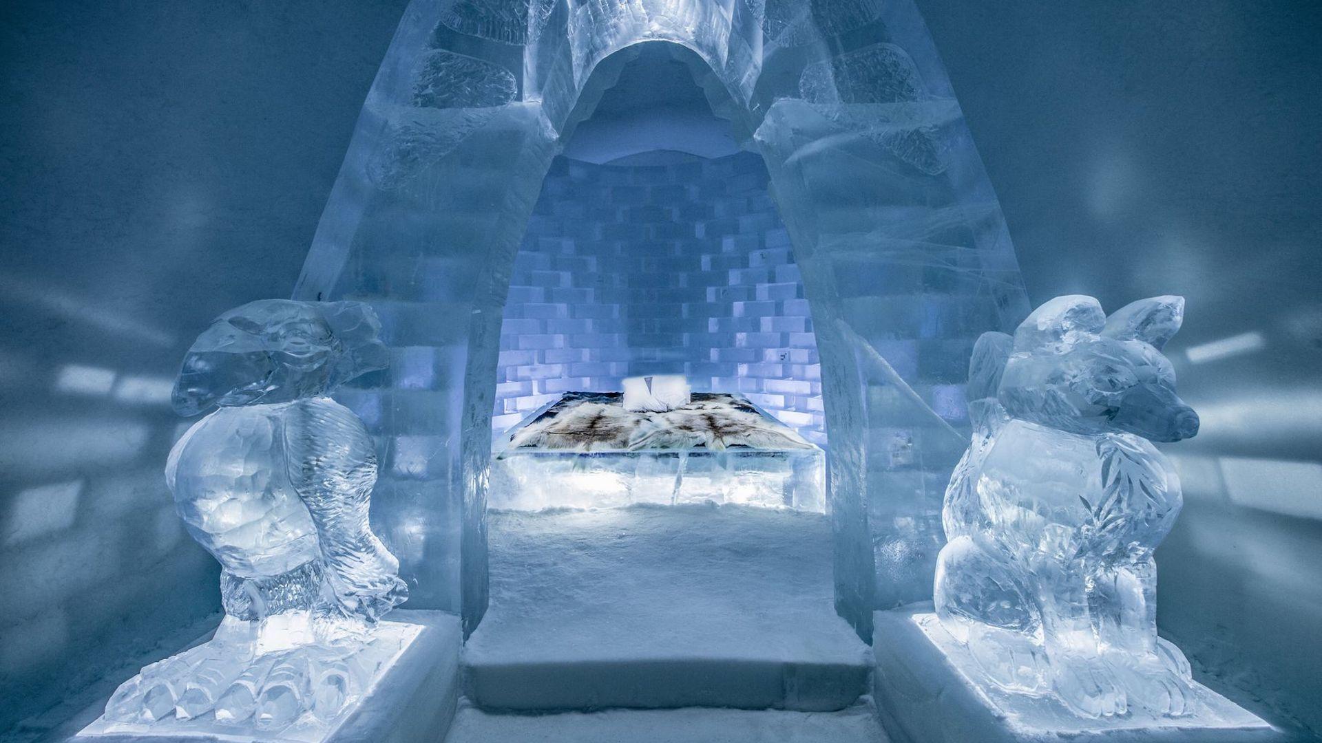 Reabrió el hotel de hielo más famoso del mundo: Icehotel