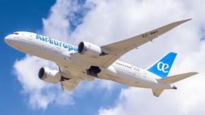 Air Europa lanzó vuelos directos entre las Cataratas del Iguazú y Madrid