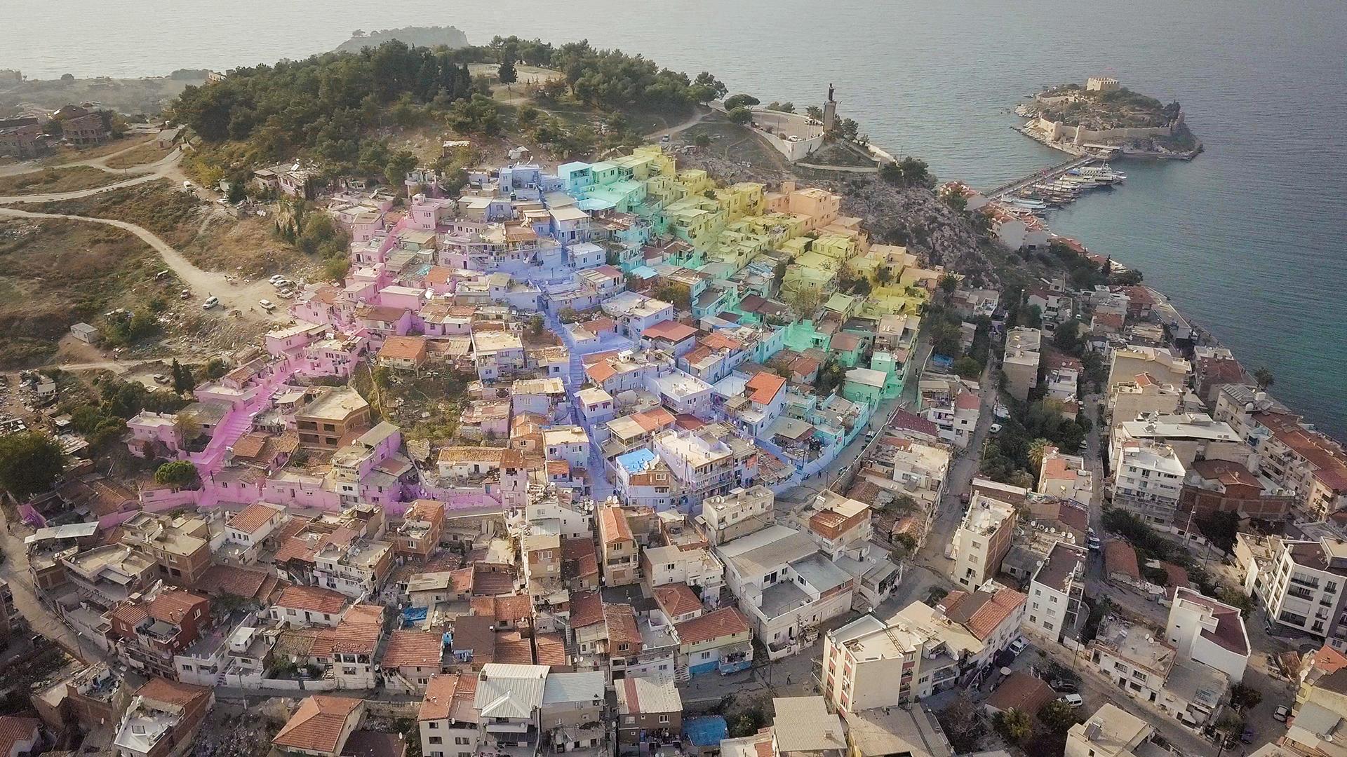 Una ciudad en Turquía cambió por completo gracias al color: video
