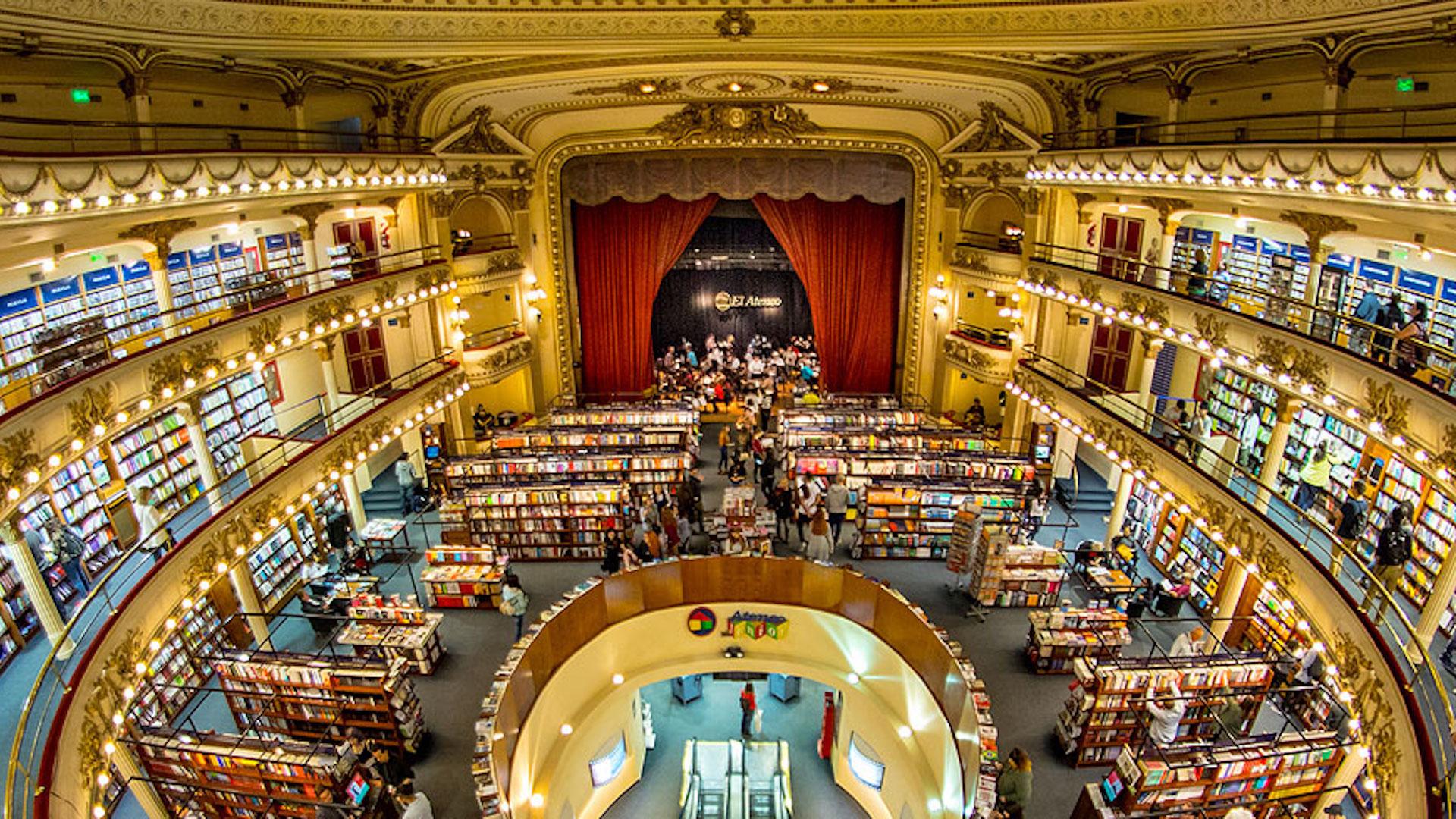 Esta es la librería más linda del mundo y está en Argentina