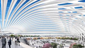 El revolucionario diseño para el nuevo aeropuerto de Chicago: imágenes