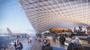 El nuevo aeropuerto de Chicago podría tener este diseño