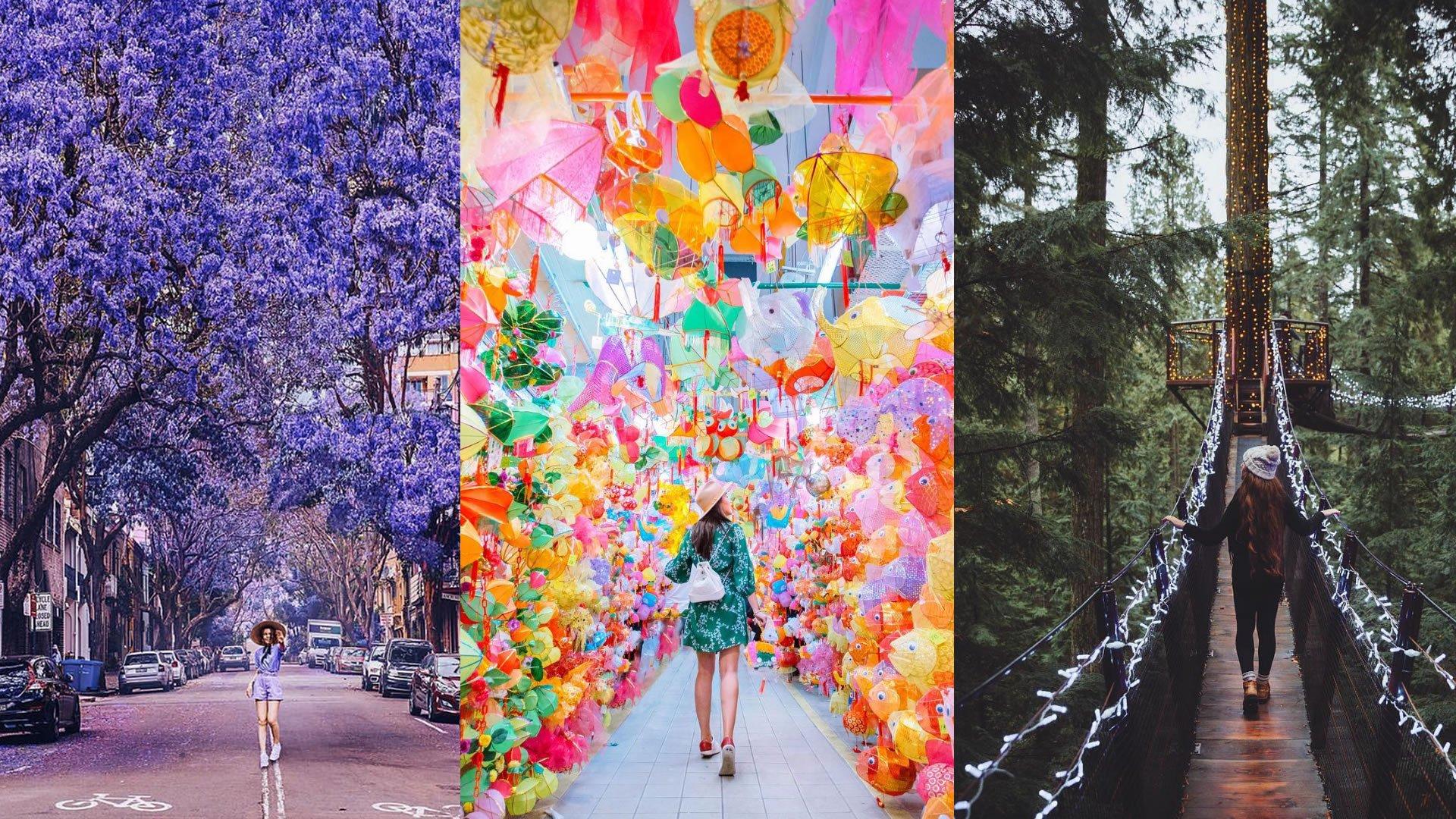 Los destinos más instagrameables del mundo 2019