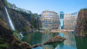 Este es el hotel más original de China construido en un acantilado