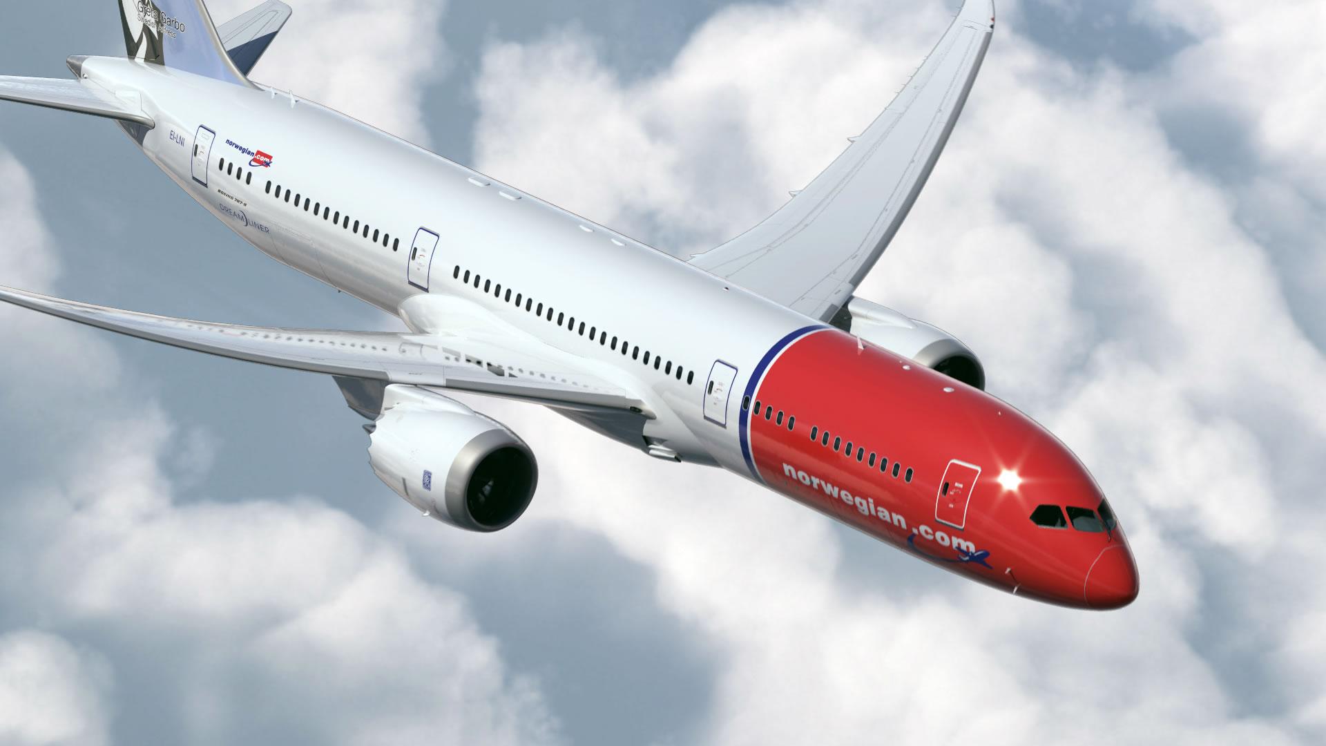 Norwegian ahora ofrece Wi-Fi gratis, incluso en vuelos internacionales