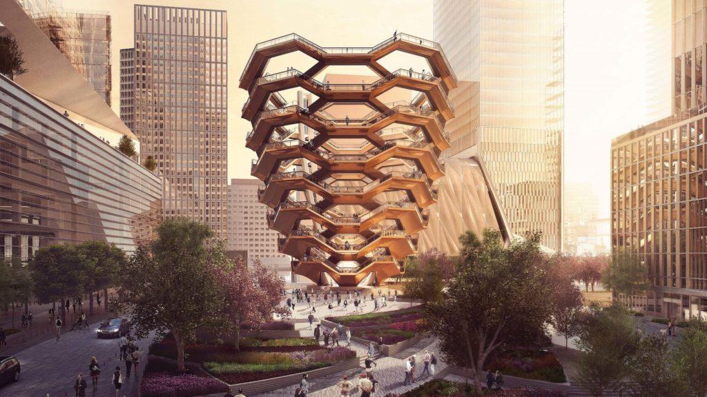 Así es The Vessel: el nuevo monumento y parque público de Nueva York