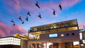 Un nuevo zipline de Las Vegas es una experiencia única