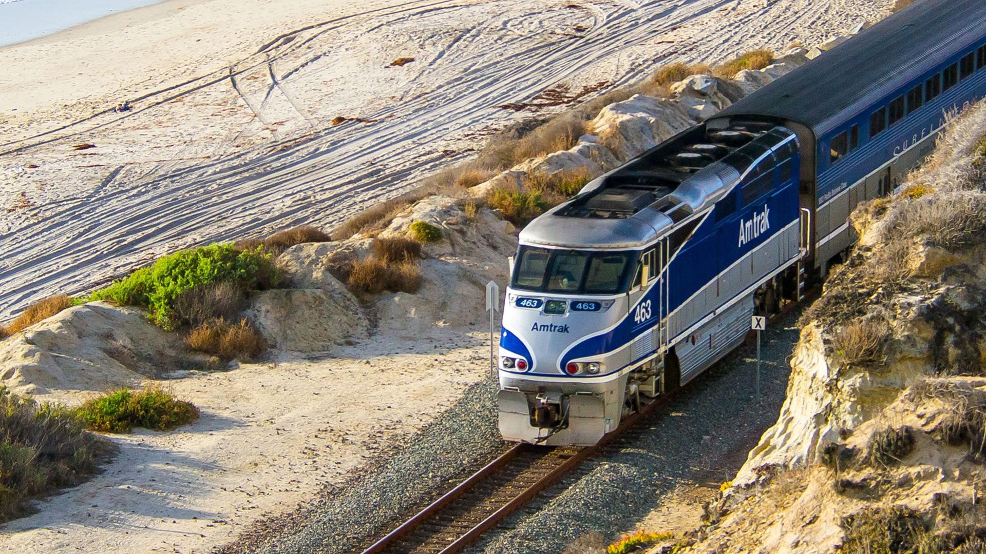 Promoción dos por uno para viajar en tren dentro de Estados Unidos