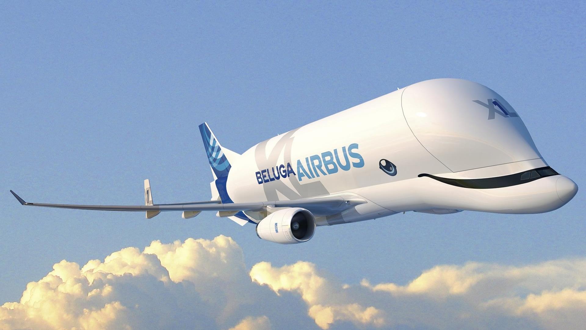 VIDEO El nuevo avión gigante de Airbus ya está listo: Beluga XL
