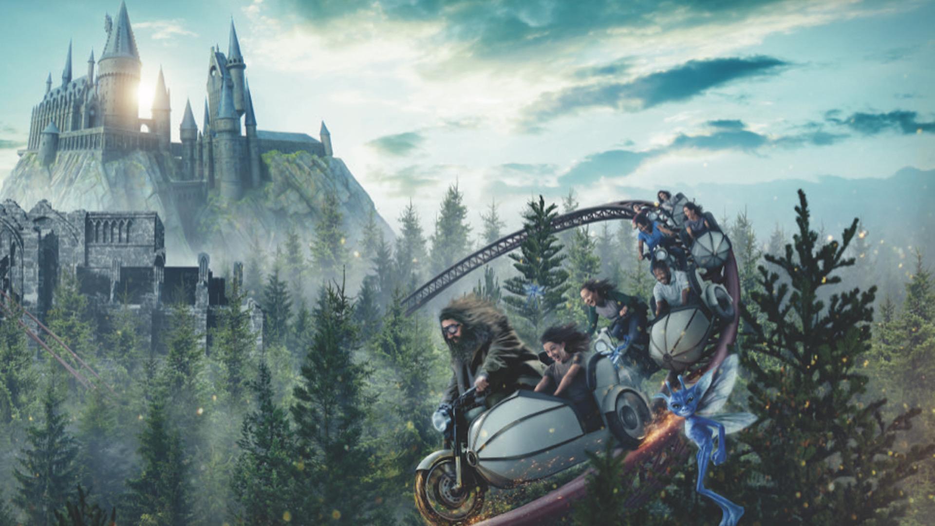 ¿Cuándo inaugura la montaña rusa de Harry Potter en Universal Orlando?