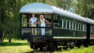 El tren de lujo para recorrer África: Rovos Rail