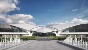 Abre TWA, el impresionante nuevo hotel en el aeropuerto de Nueva York