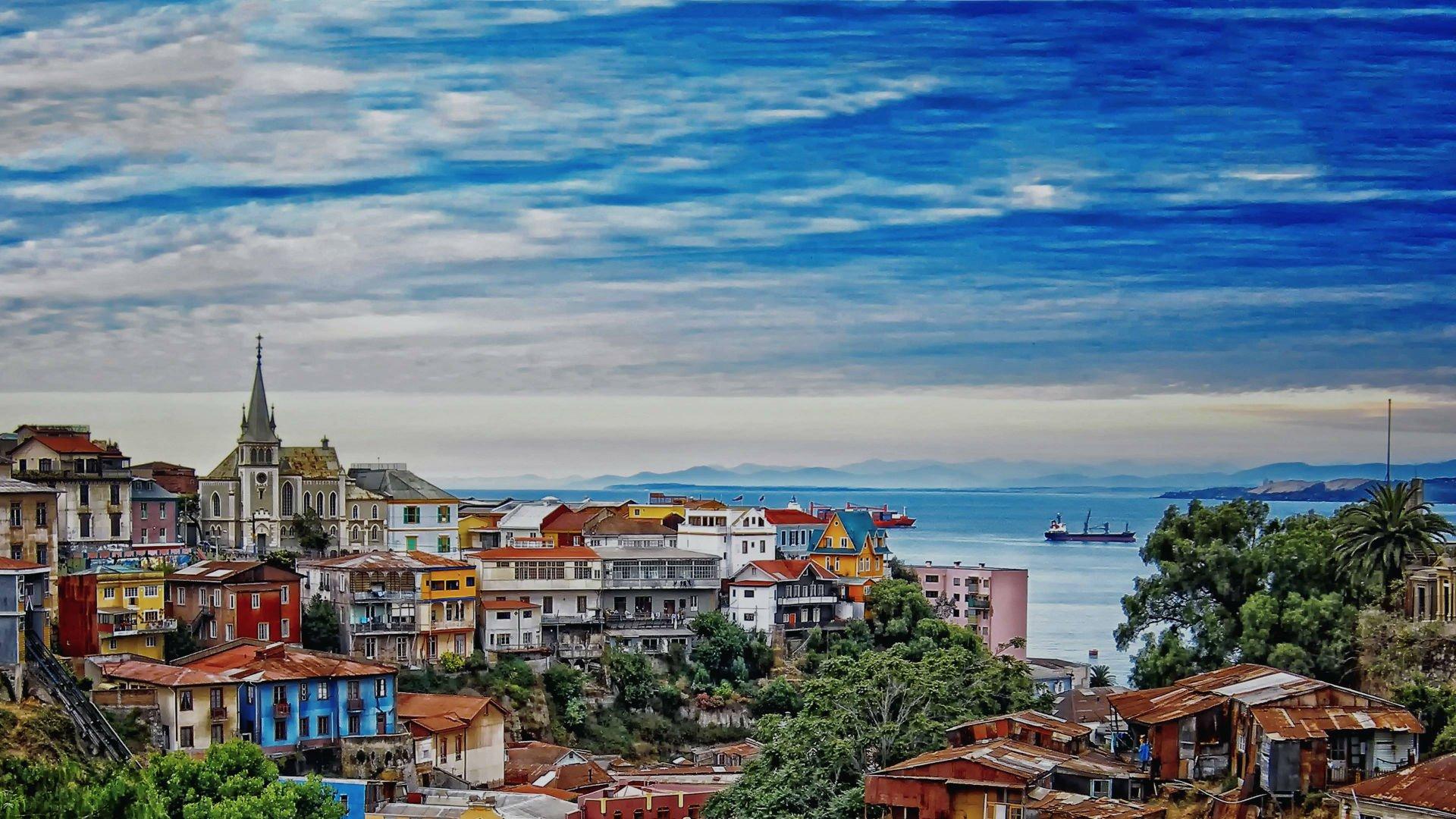 Así es la ruta del arte callejero en Valparaíso