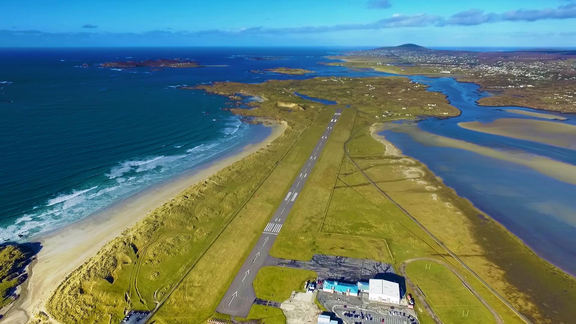¿Cuáles son los aeropuertos con las vistas más lindas para aterrizar?