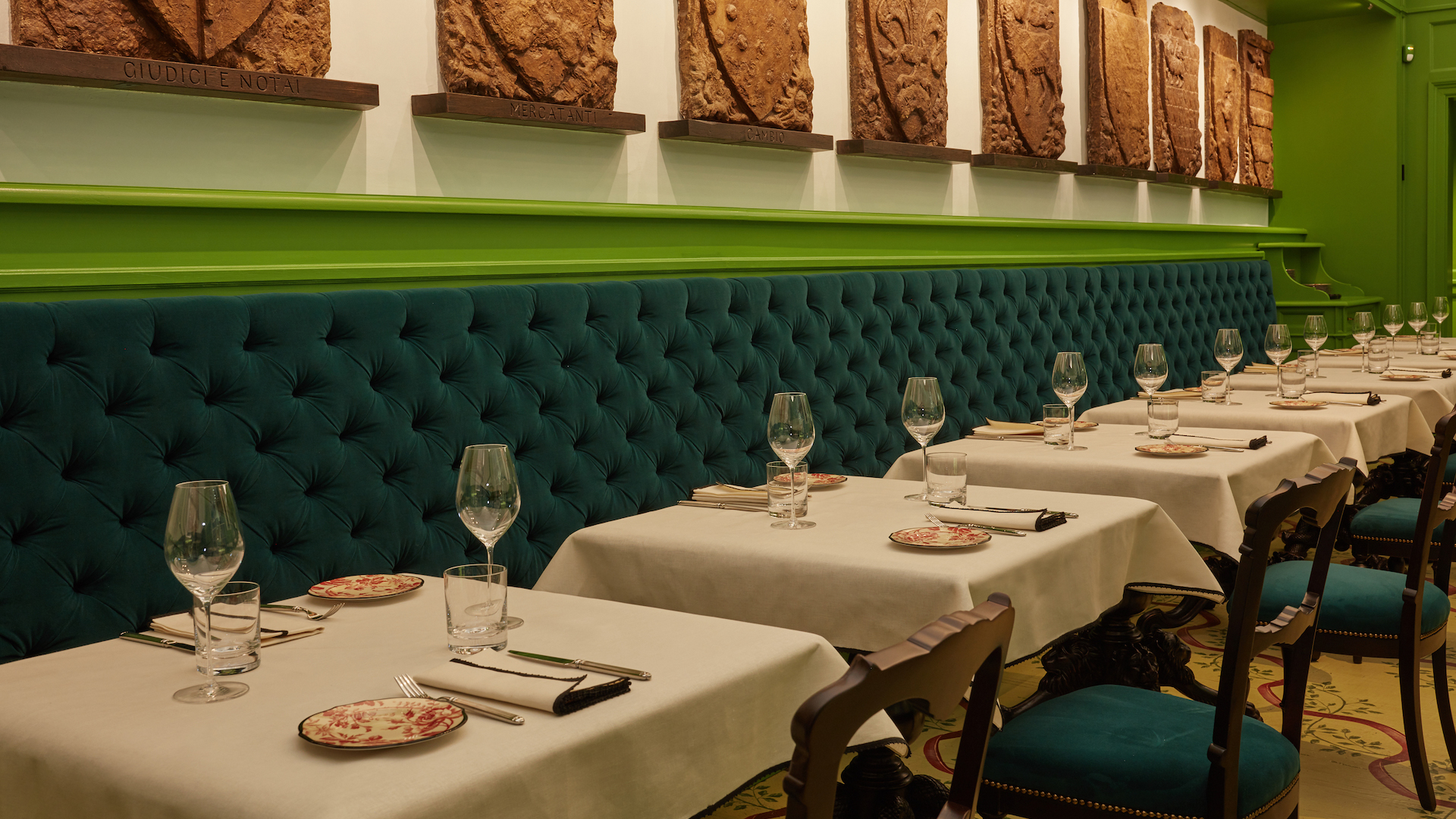 Así es Gucci Ostería, el restaurante de lujo para los fans de la marca