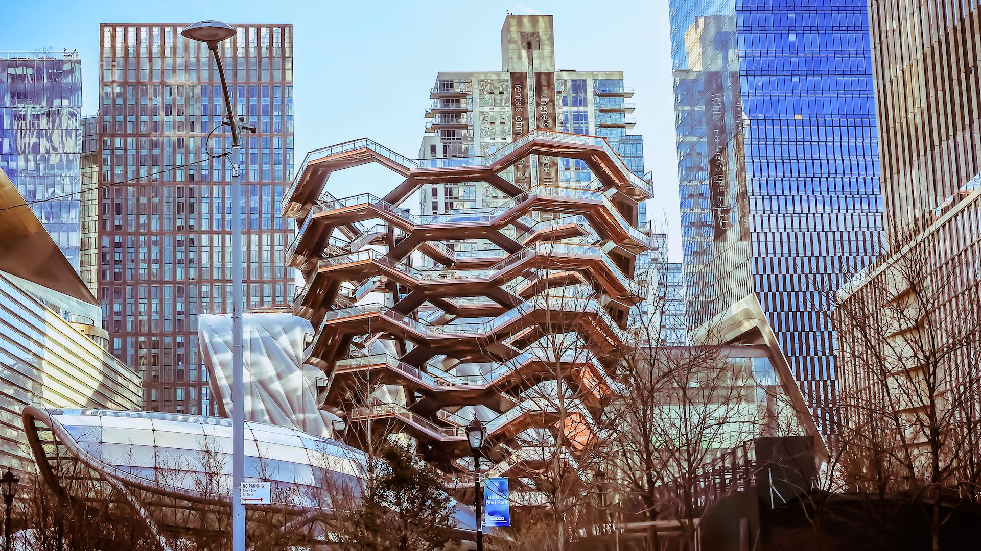 Así se ve Hudson Yards Nueva York a días de su inauguración: imágenes