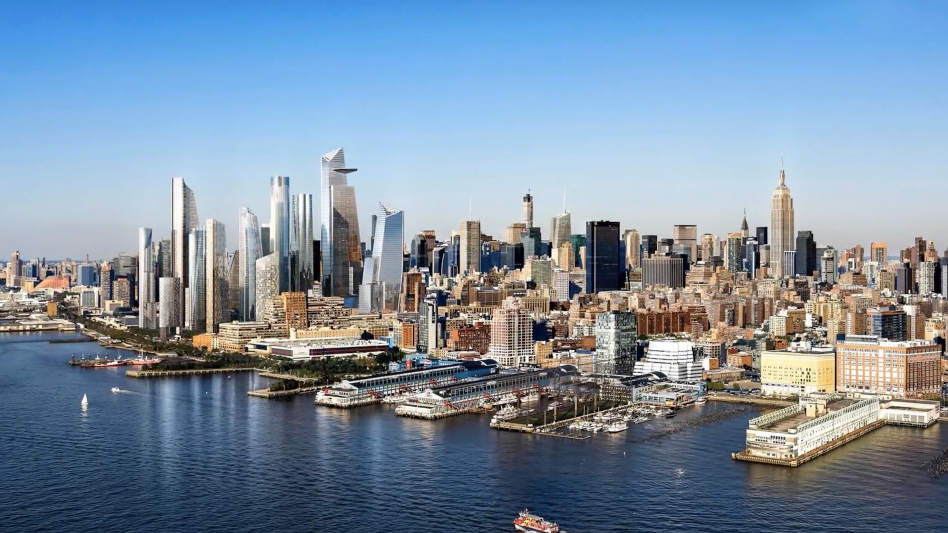 El imperdible video que muestra la construcción de Hudson Yards