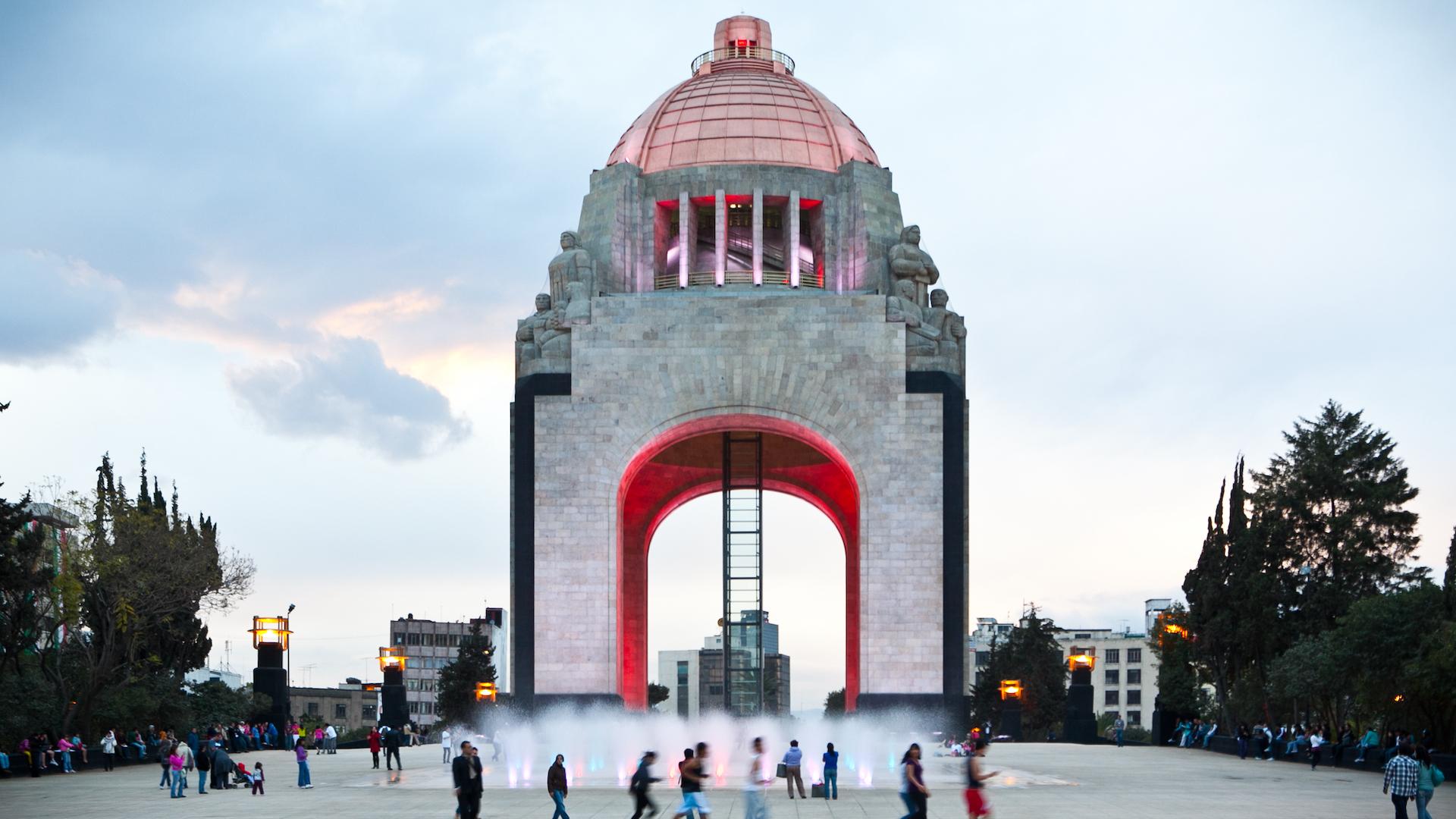 Así es el Monumento a la Revolución Mexicana: imágenes