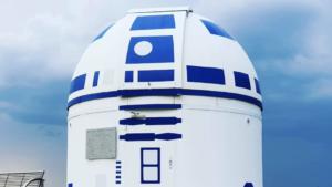 El observatorio que luce cómo el personaje más famoso de Star Wars