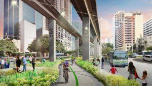 En 2020 inaugura Underline, el High Line de Miami: imágenes