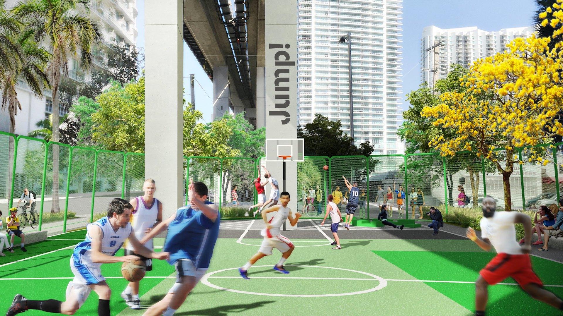 En 2020 inaugura Underline, el High Line de Miami: imágenes - 5