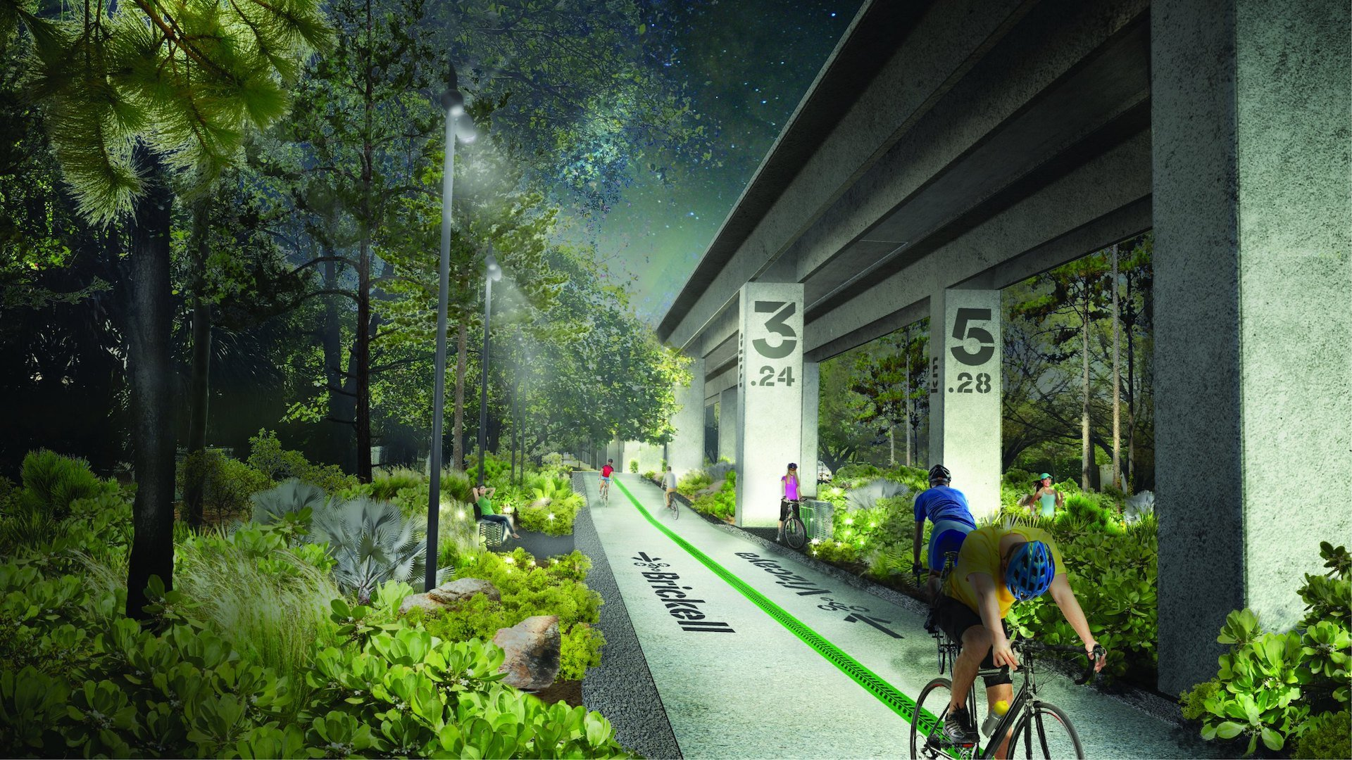 En 2020 inaugura Underline, el High Line de Miami: imágenes - 4