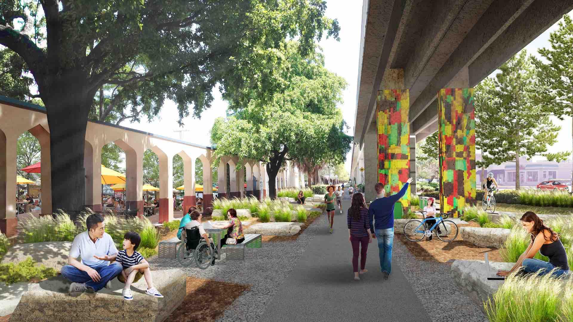 En 2020 inaugura Underline, el High Line de Miami: imágenes - 3