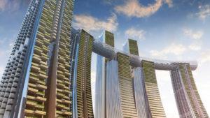 Este es The Crystal: el impresionante rascacielos horizontal en China