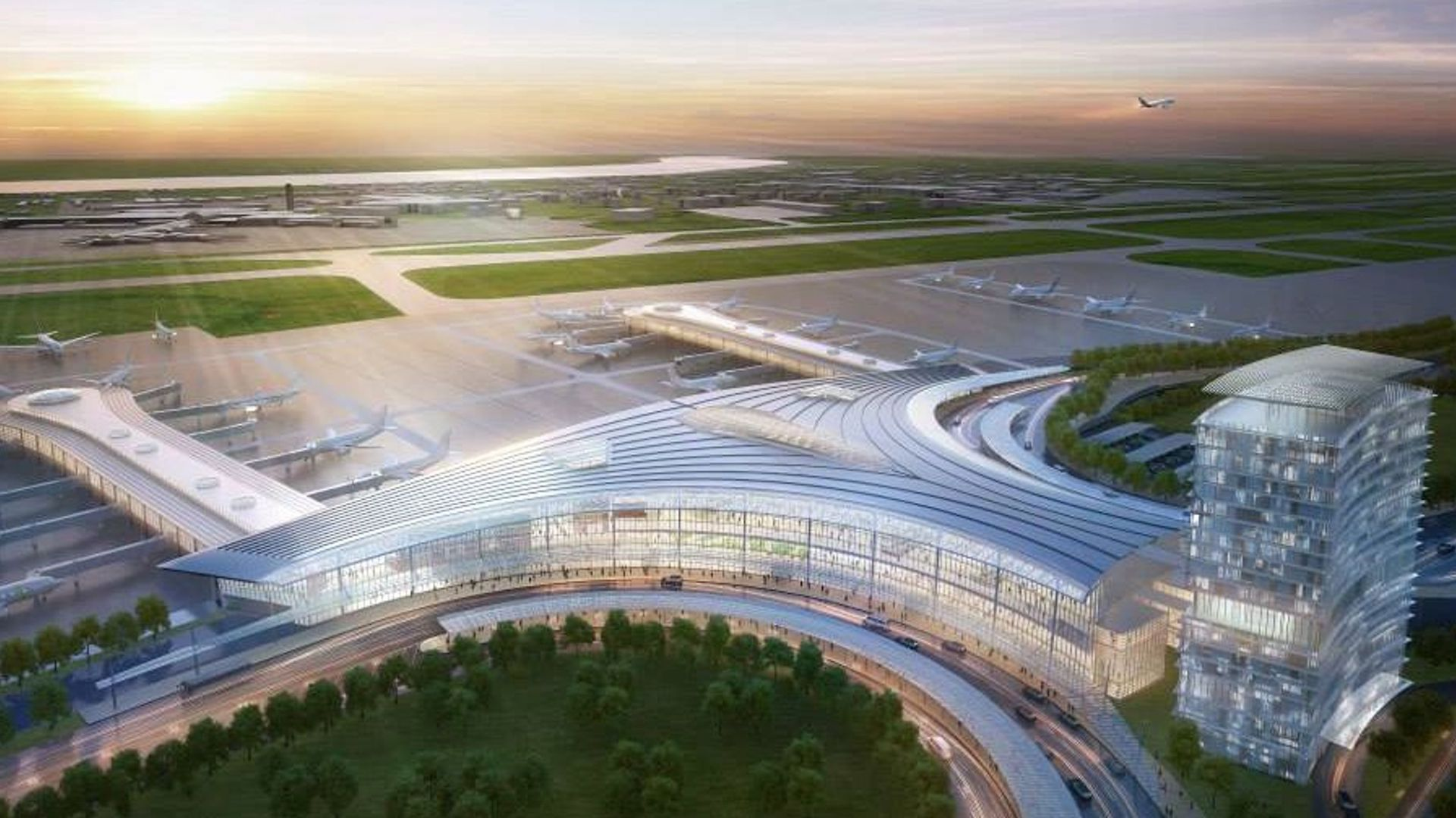 El nuevo aeropuerto en Estados Unidos diseñado por César Pelli