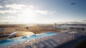 El aeropuerto JFK de Nueva York ahora tiene una piscina panorámica