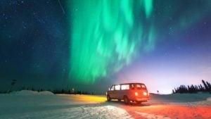 Los mejores lugares para ver las auroras boreales en Estados Unidos