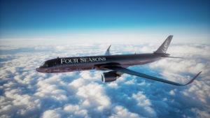 Este es el nuevo avión de lujo de Four Seasons para viajar por el mundo
