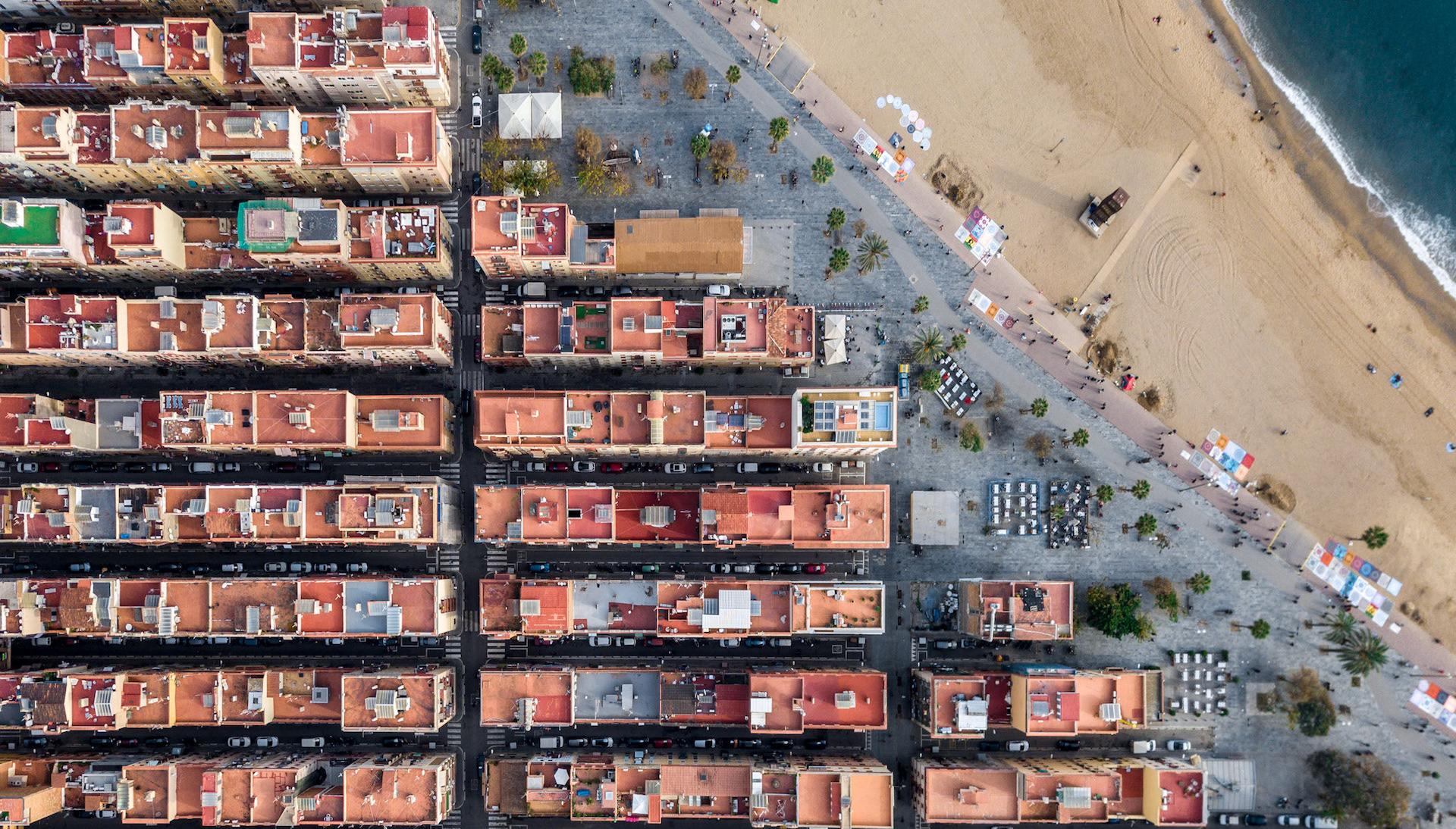 España desde el aire