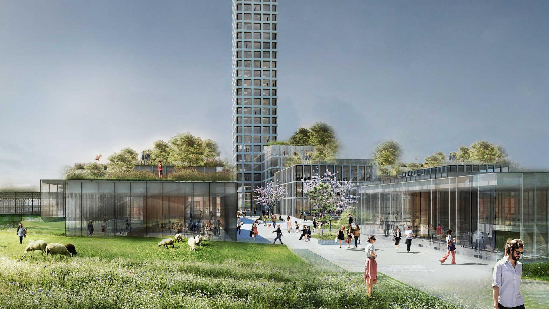 Así es Bestseller Tower en Dinamarca