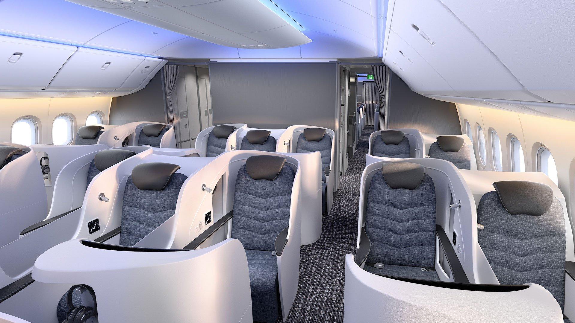 Así es por dentro el Boeing 777X, el avión más largo del mundo