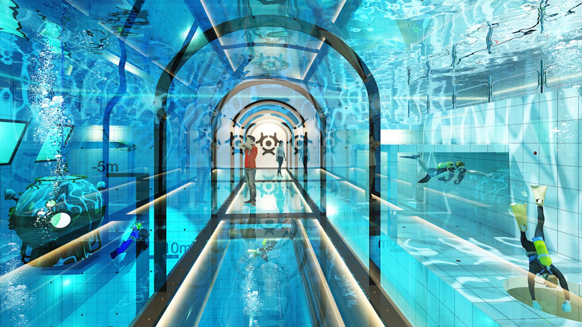 Deepspot: esta es la piscina más profunda del mundo