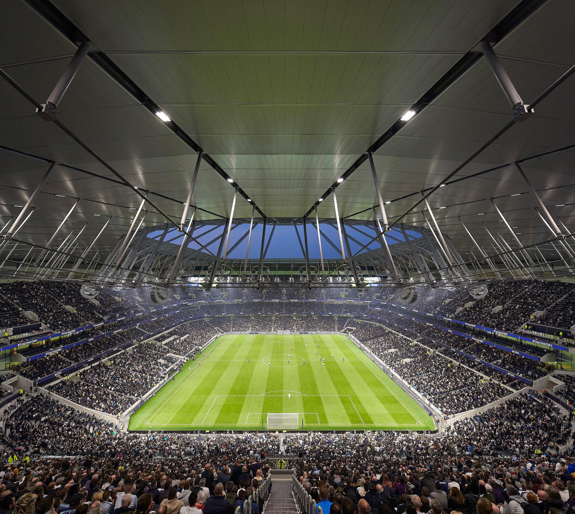 Así es el mejor estadio de fútbol del mundo: Tottenham Hotspur