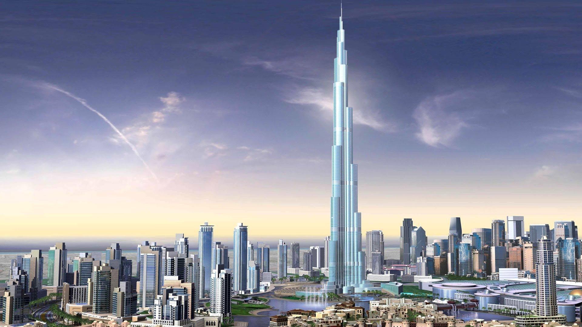 ¿Cuántos escalones hay que subir para llegar a los edificios más altos?