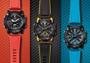 Casio lanzó su nueva colección de relojes G-Shock, resistentes y coloridos