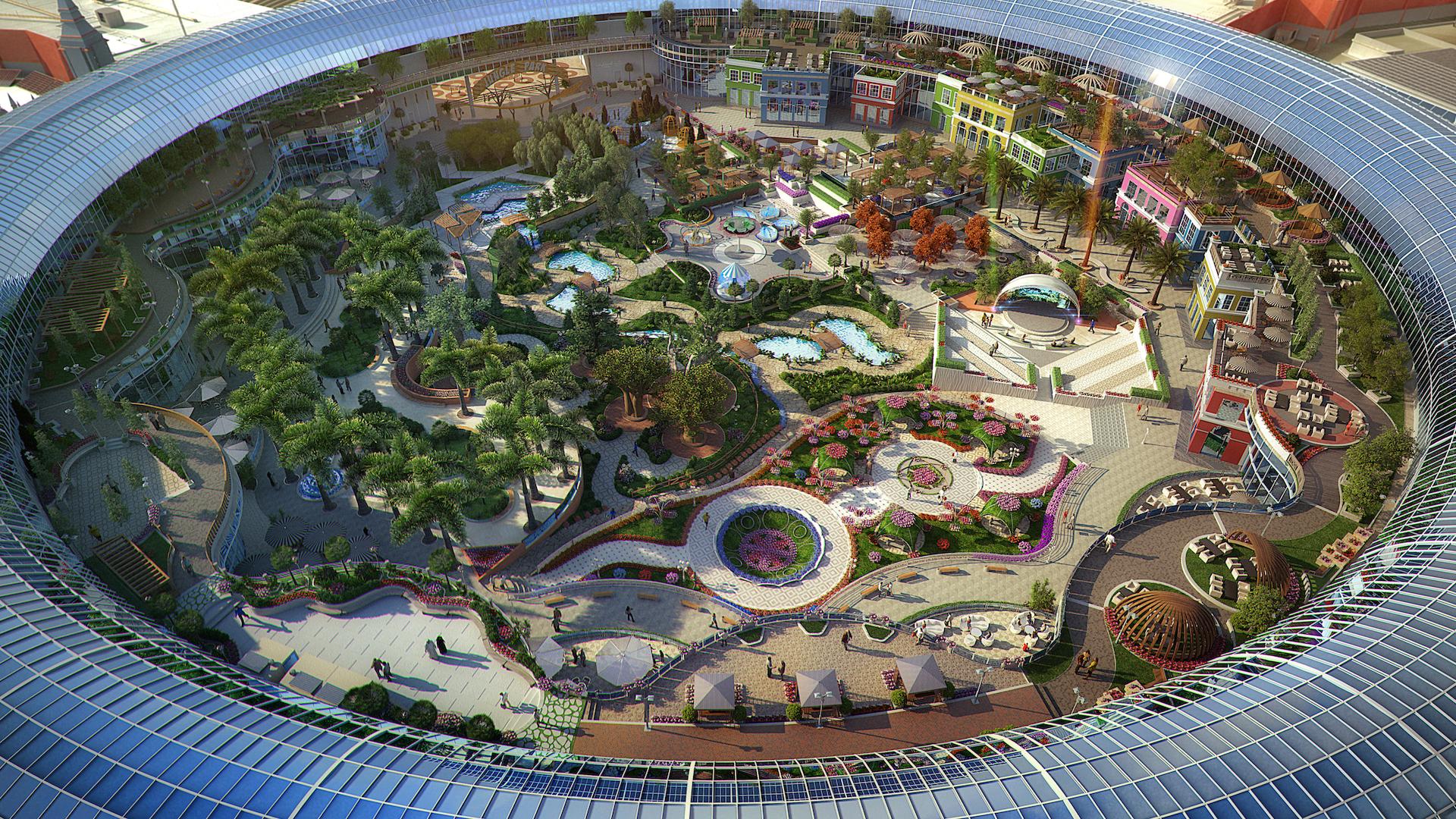 Abrió Cityland Mall Dubái: el espectacular shopping inspirado en la naturaleza