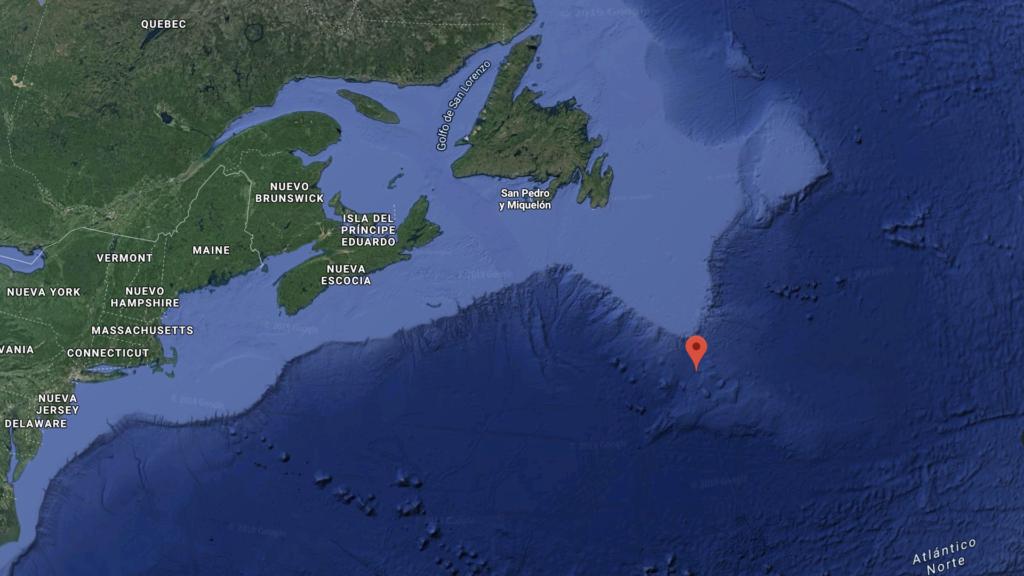 Google Maps revela la ubicación exacta del Titanic