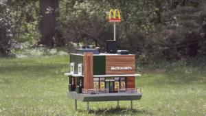 Mc Donald's abrió su local más pequeño del mundo: para clientes especiales