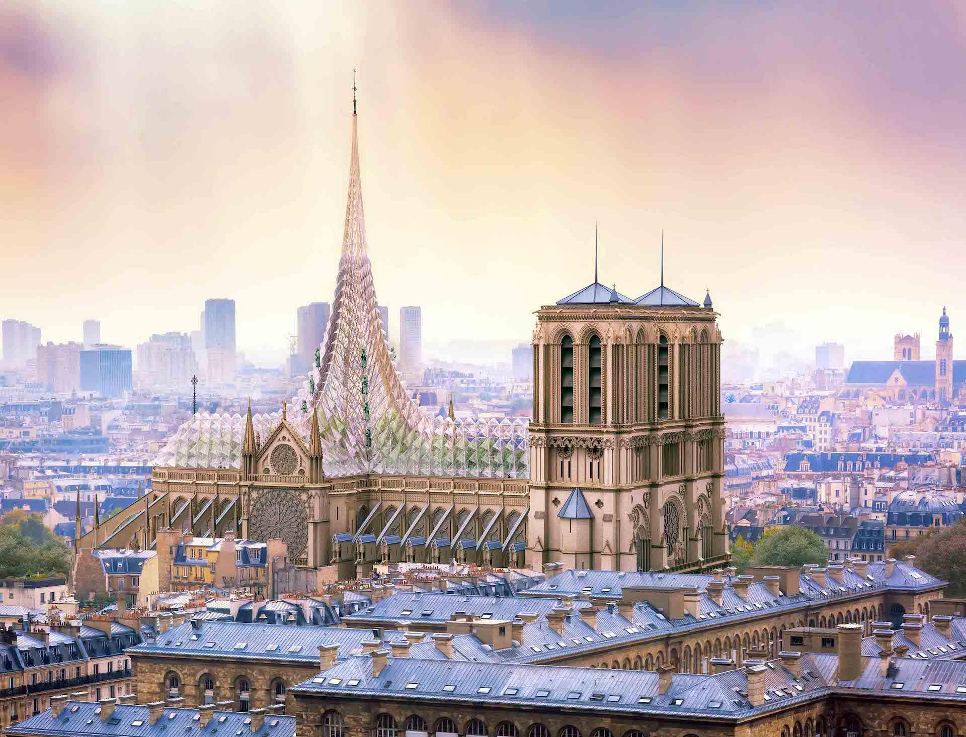 Palingénesis: el proyecto para reconstruir la catedral de Notre Dame