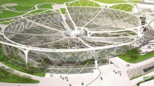 Este es el impresionante nuevo Parque Botánico de Seúl con techo en forma de flor