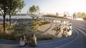 Así es The Tide: el nuevo parque elevado en Londres