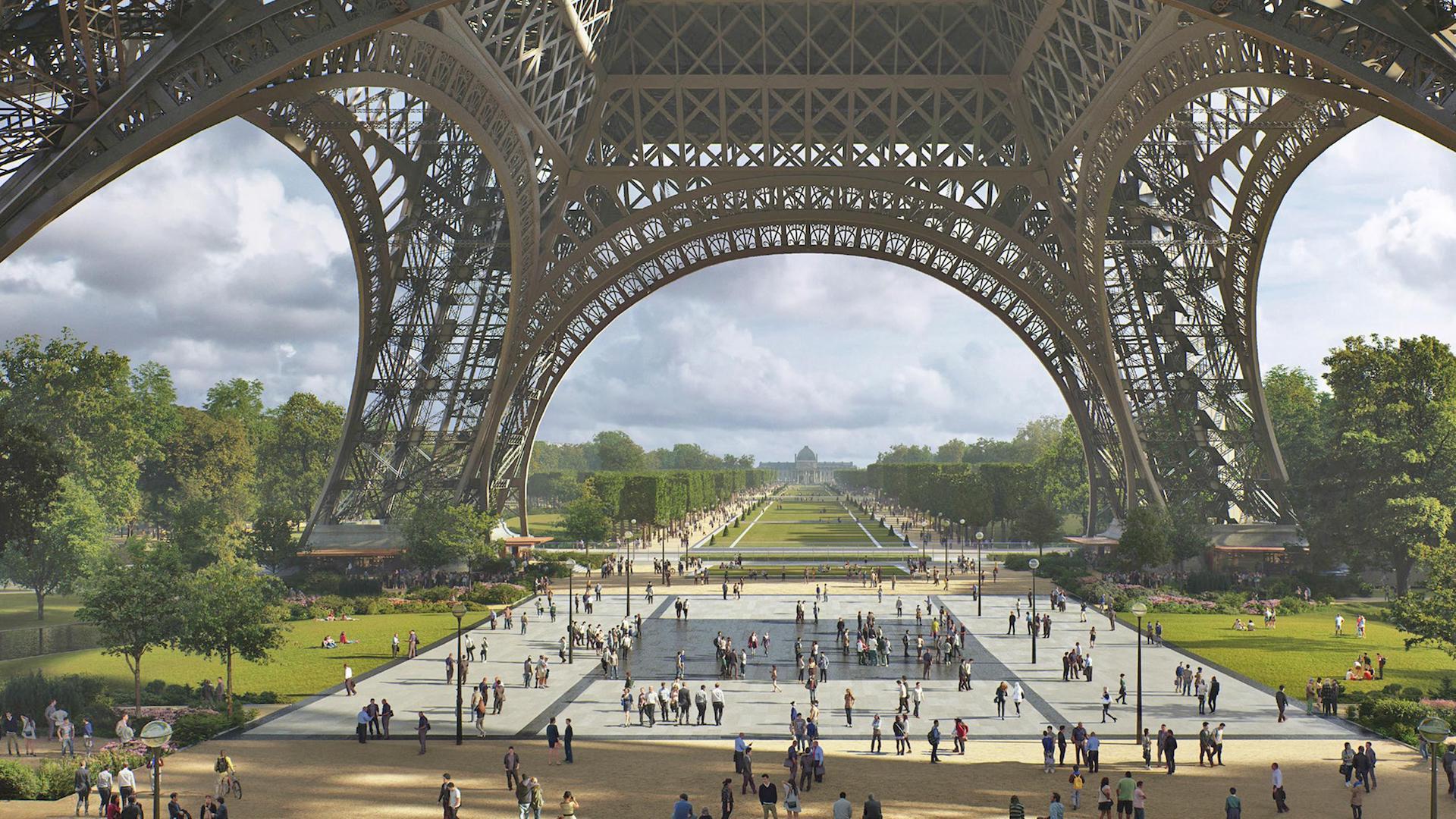 Resultado de imagen para paris nuevo parque torre eiffel