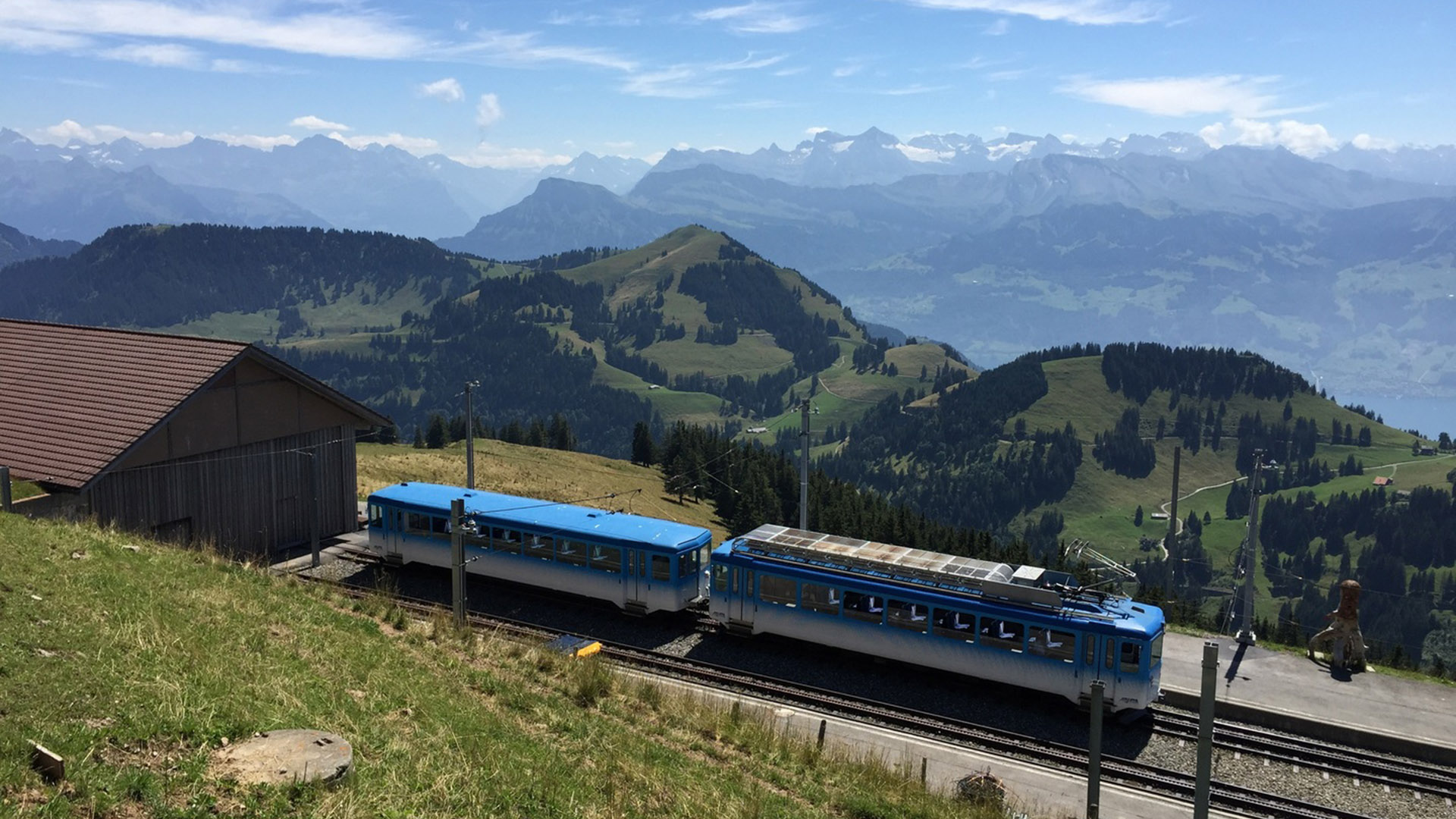 Cinco rutas en tren por Europa para disfrutar de los mejores paisajes